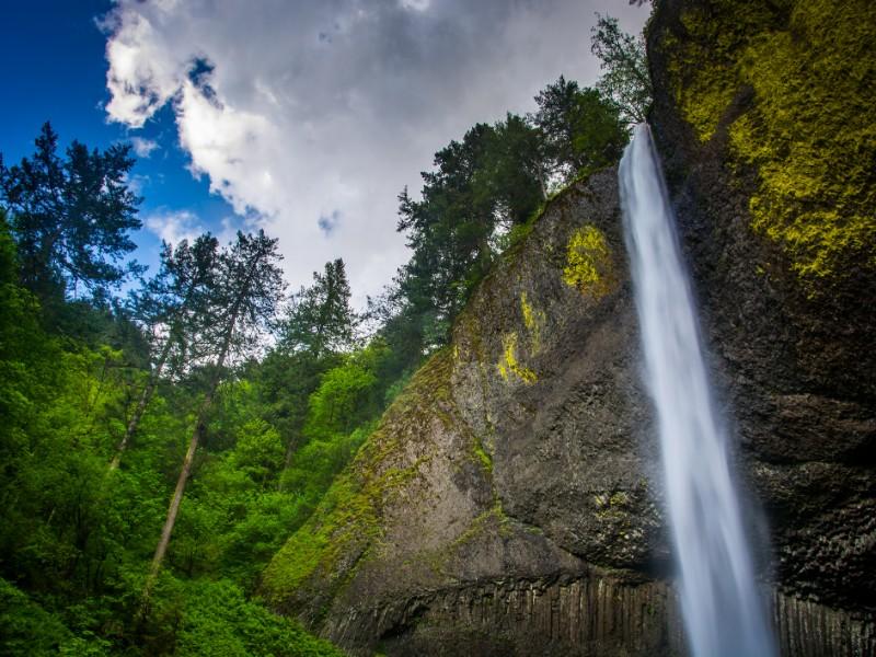 Latourell Falls at Guy W. Talbot State Park