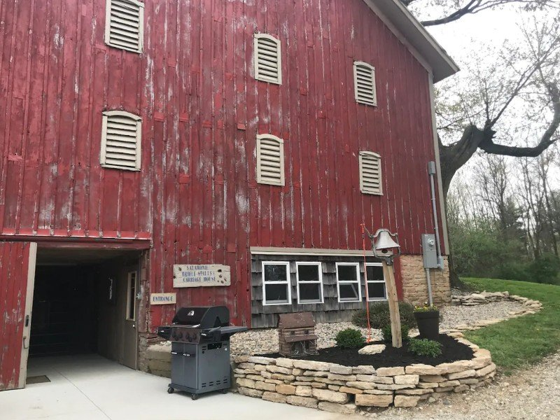 Barn Surrounded by Salamonie State Park & Reservoir, Indiana Airbnb