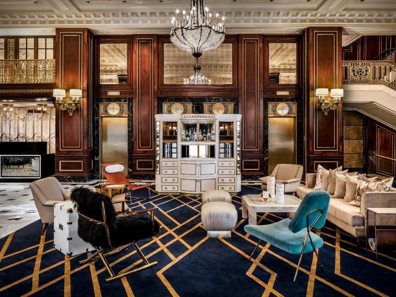 Seating at The Blackstone Hotel