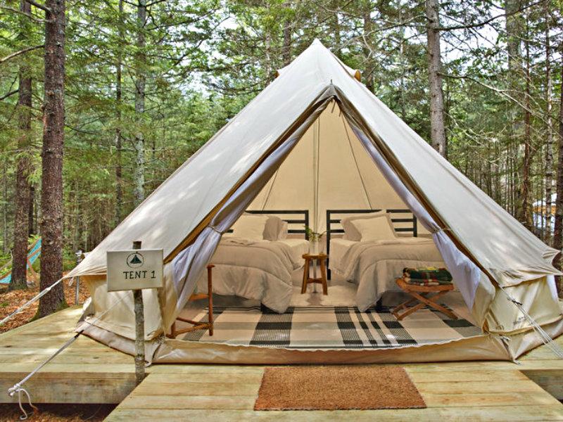 Tops'L Farm tent