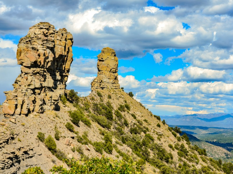 Chimney Rock National Monument - Colorado.