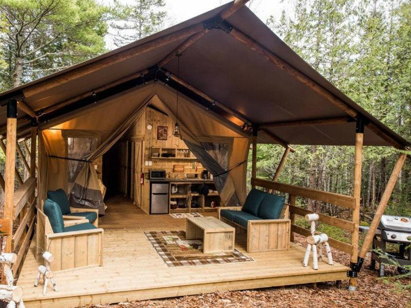 Woods of Eden, Glampground, Tent #4 Deer