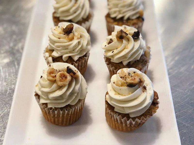Cupcakes at Baristas+Bites