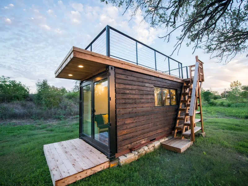 Elegant Container Tiny House
