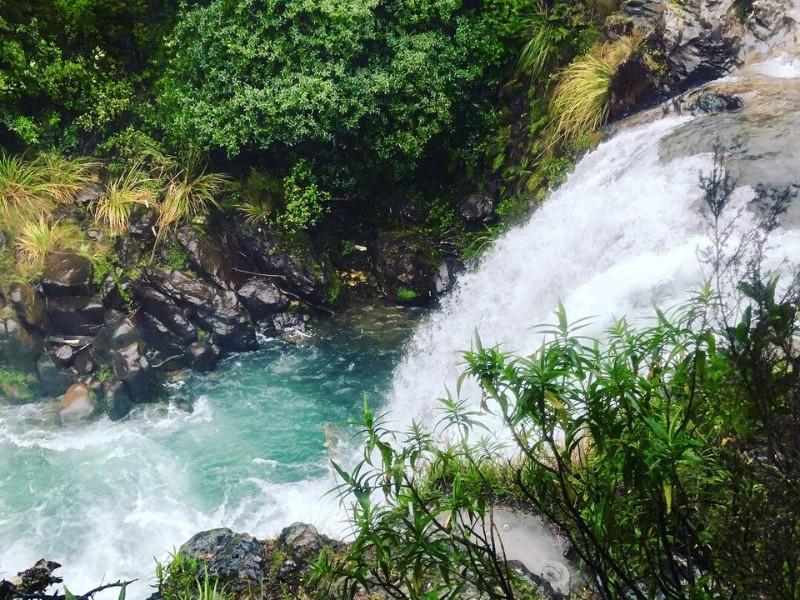 Gollum's Falls, North Island, New Zealand
