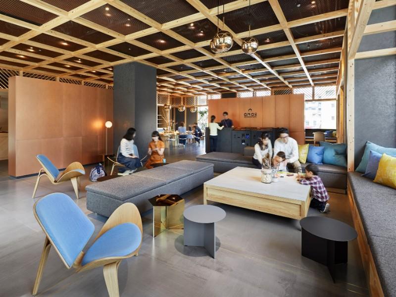 Seating at Hoshino Resorts OMO5 Tokyo Otsuka