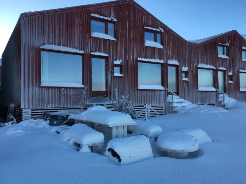 Longyear Beach, Longyearbyen, Svalbard, Norway
