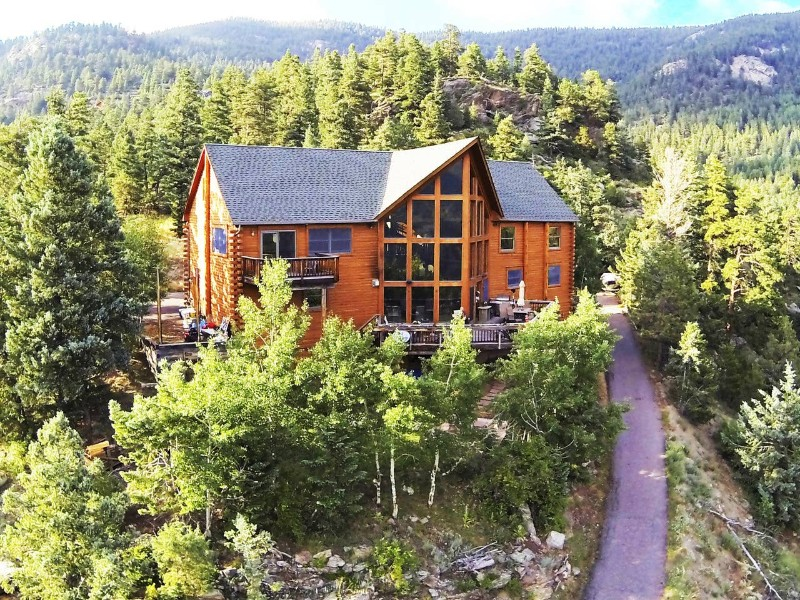 O'Malley Mountain Lodge. Evergreen, Colorado Airbnb