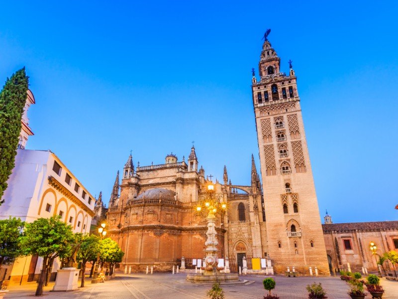 Cathedral in Seville