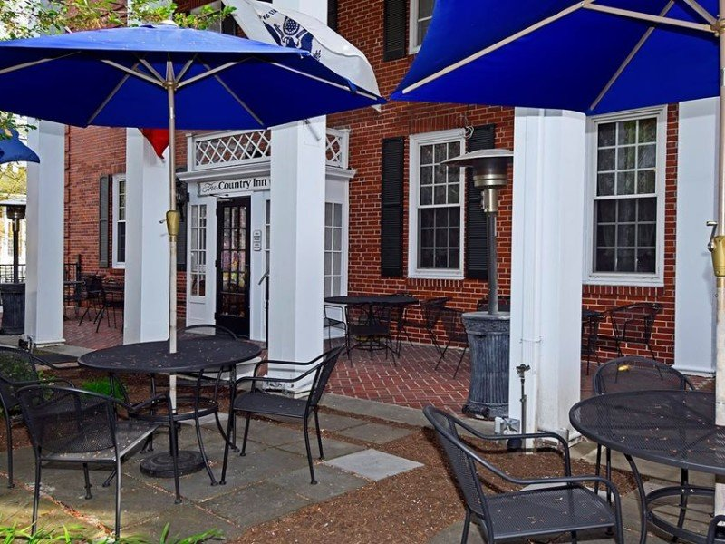 Seating at The Country Inn of Berkeley Springs