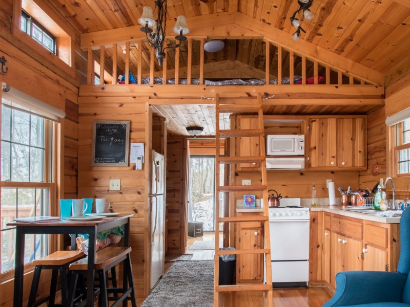 Tiny Home Log Cabin - Boone, North Carolina