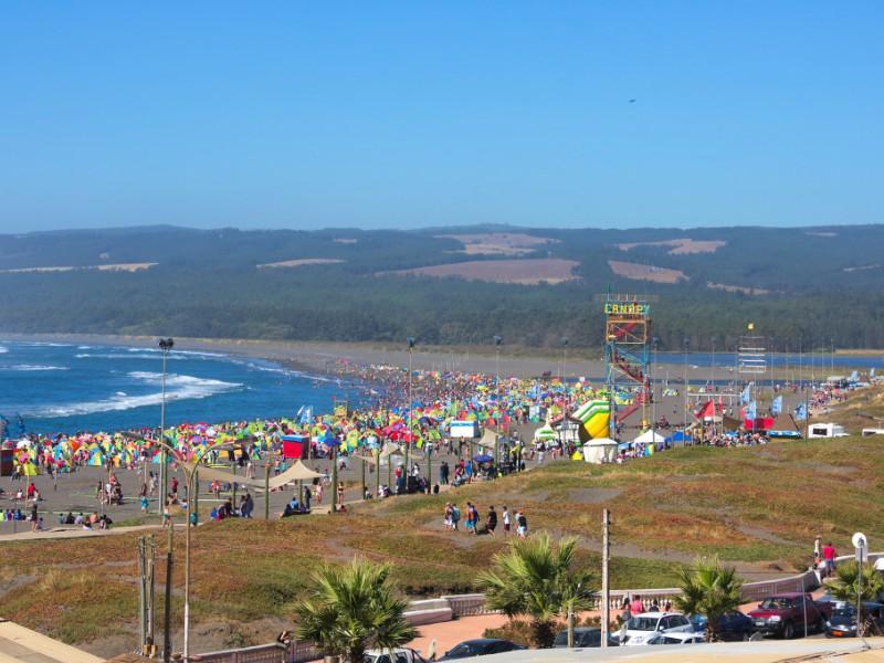 Valparaíso beach