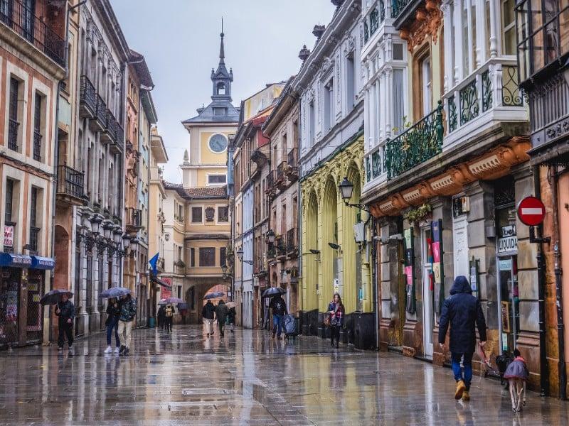 Old Town Oviedo, Spain