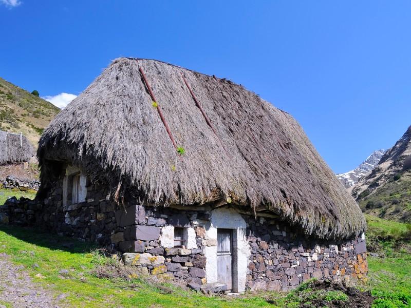Shepherd's hut in Asturias, Spain
