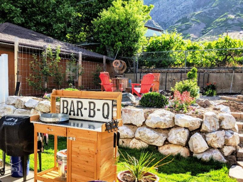 Spacious Garden w/BBQ-Mountian View