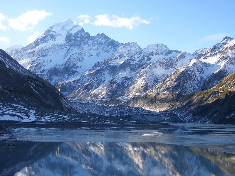 Mount Cook in Winter