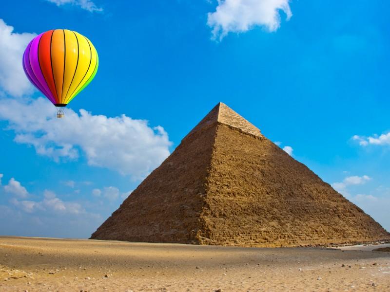 Hot Air Balloon, Egypt