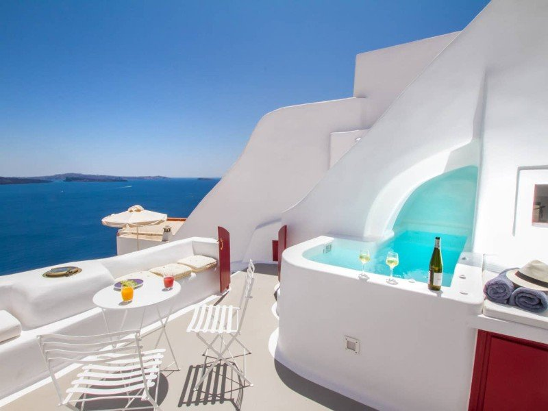 Hector Cave House, Santorini, Greece