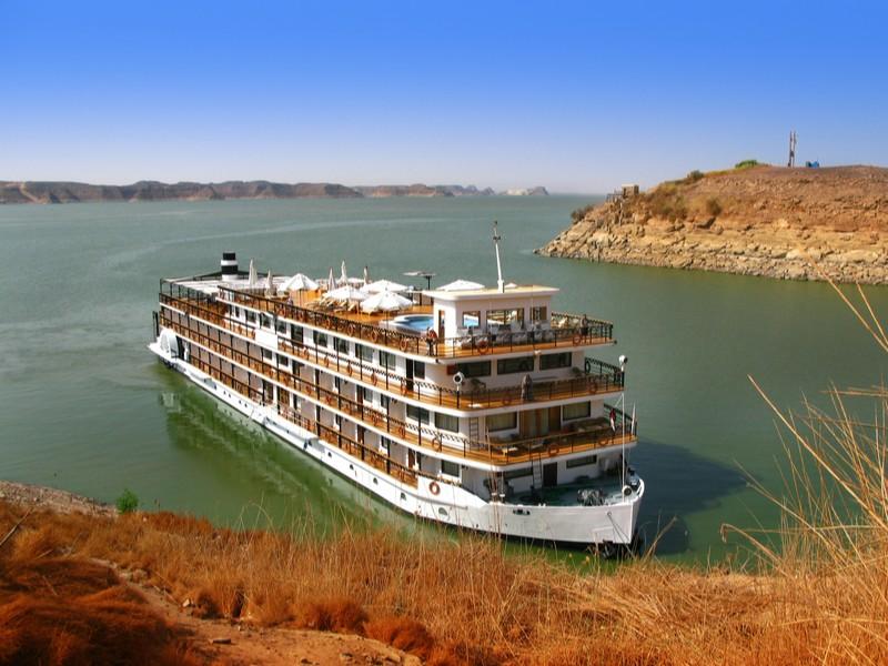 Nile cruise ship