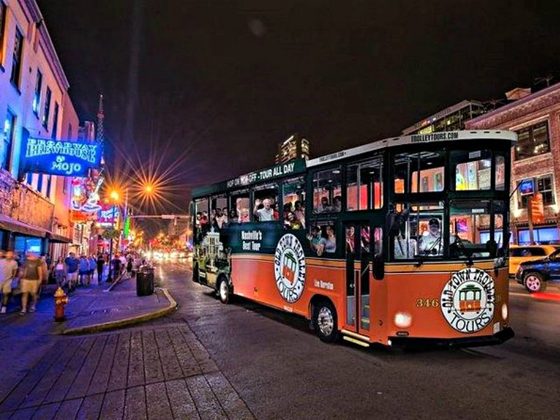 Nashville at Night Trolley Tour