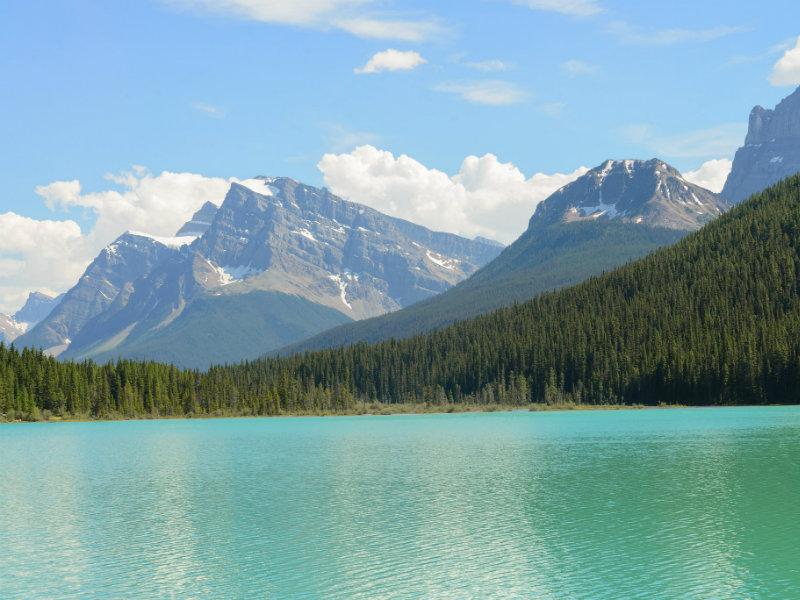 Waterfowl Lake in Banff