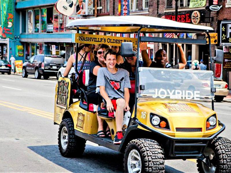 Explore Nashville City Tour by Golf Cart