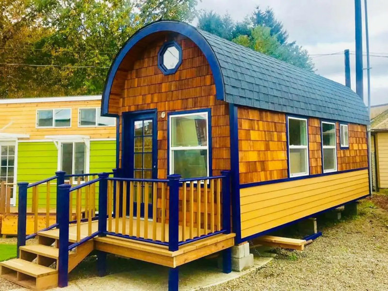 Eclectic Vineyard Gypsy Tiny House