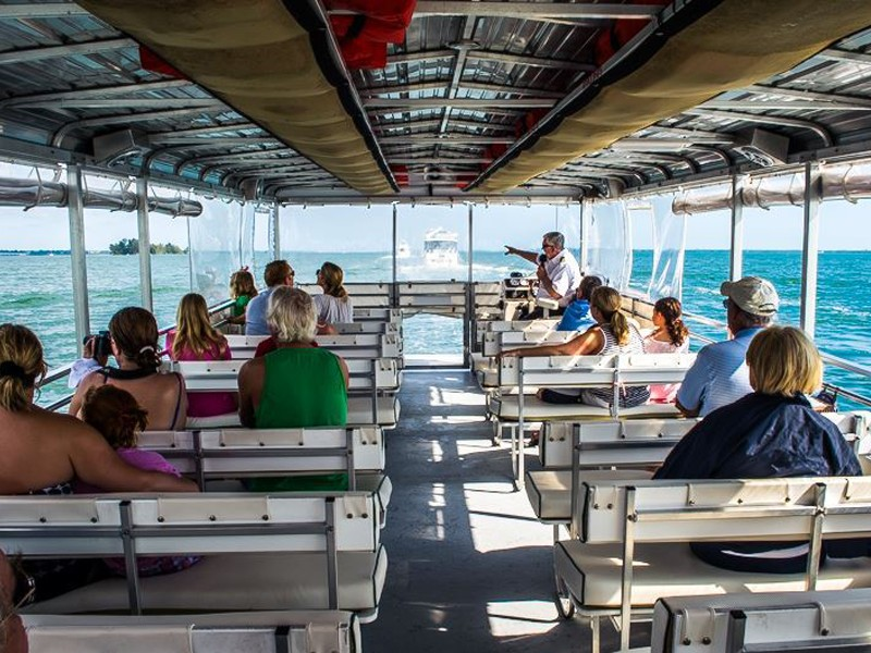 Capt. Hiram's River King Cruise offers eco-tours of Sebastian River and Indian River Lagoon
