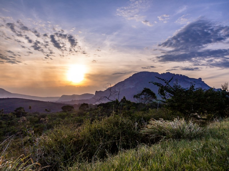 Sunset in Chapada Diamantina National Park
