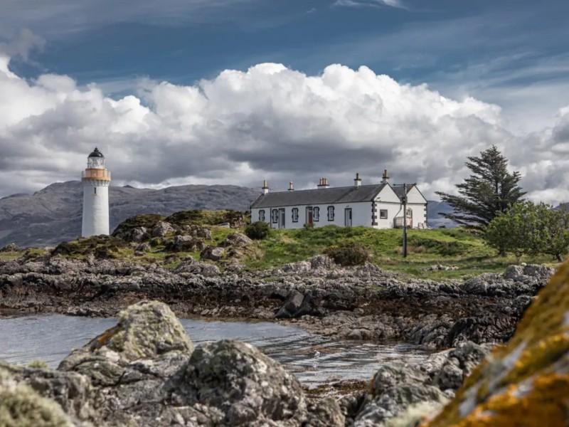 Scottish HIghlands Lighthouse Cottage, Skye, Scotland