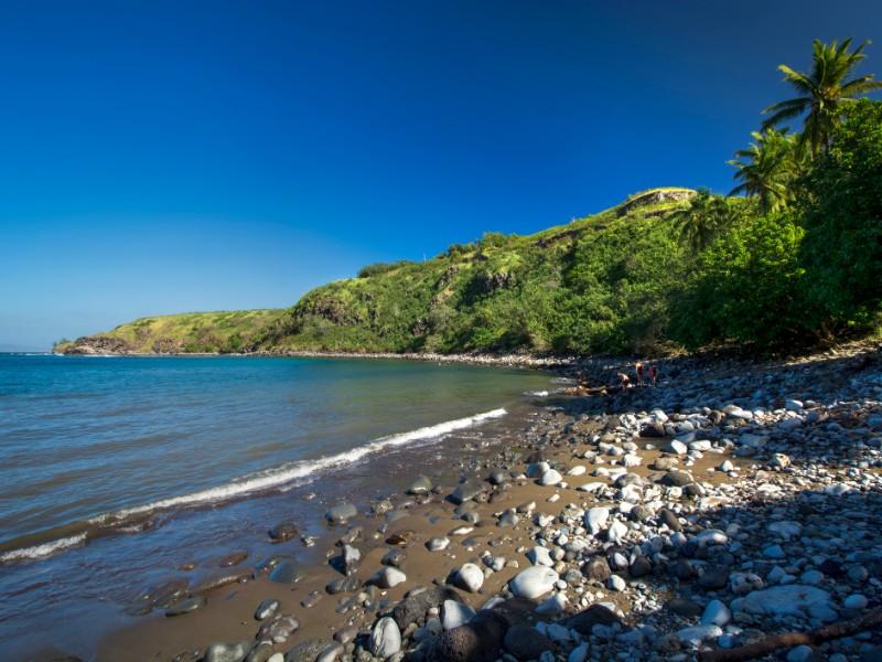 Honolua bay on the west coast of Maui