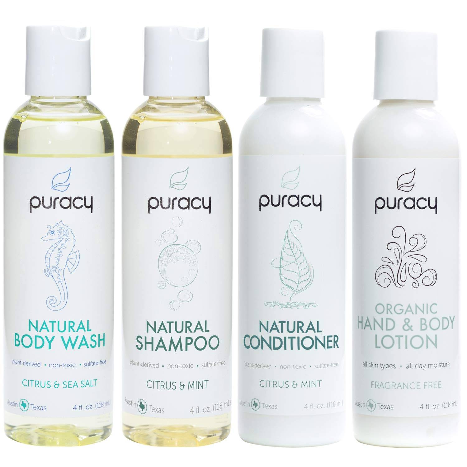 Puracy Organic Personal Care Travel Set