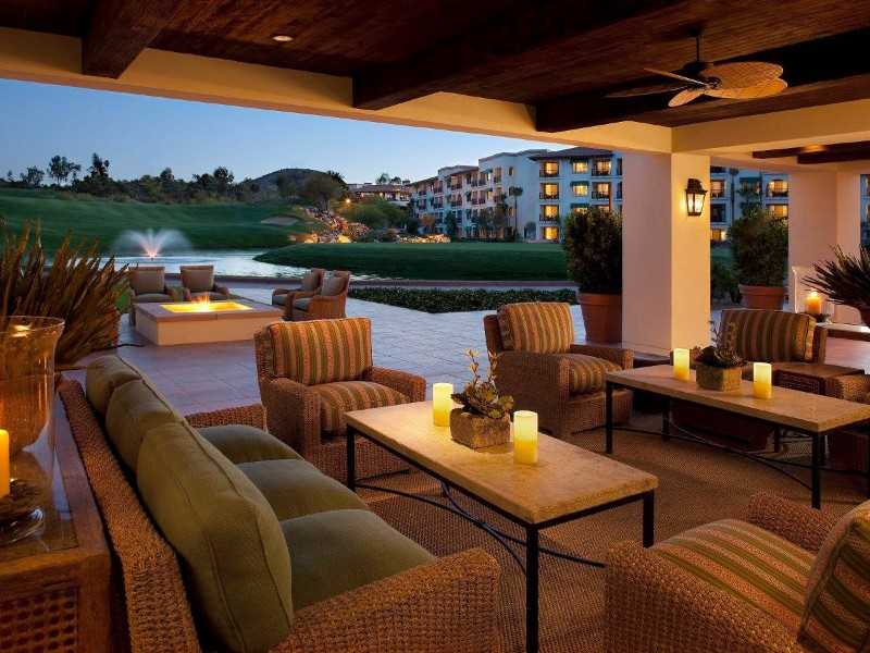 Seating at Arizona Grand Resort & Spa
