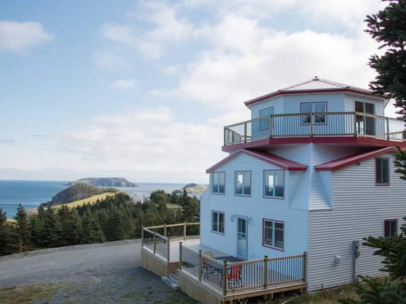 Cribbie Lighthouse, Tors Cove, Newfoundland