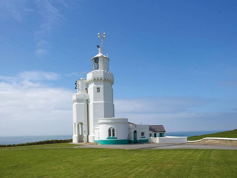Gurnard Cottage St Catherines Lighthouse, Isle of Wight, UK