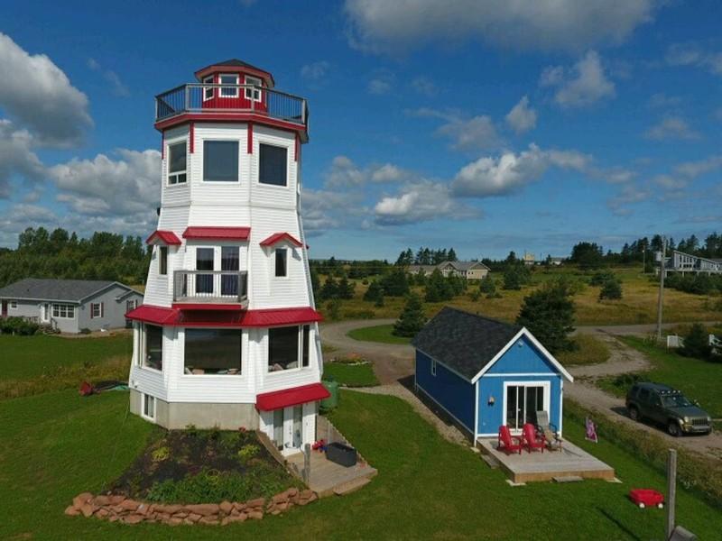 Stolen View Lighthouse, Glasgow, Nova Scotia, Canada