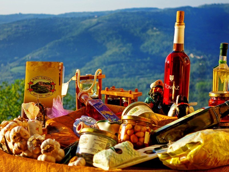 Motovun truffles and truffle products, Croatia