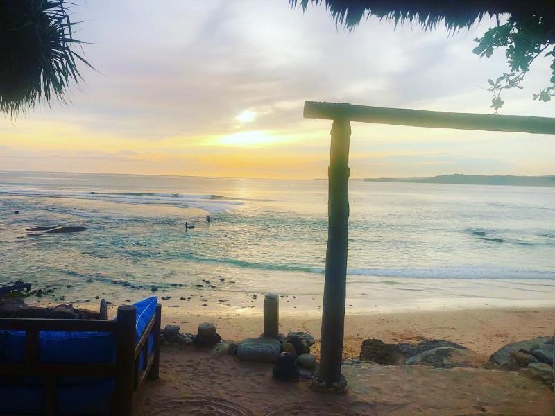 Sunset from the Boathouse Bar, Nihi, Sumba Island