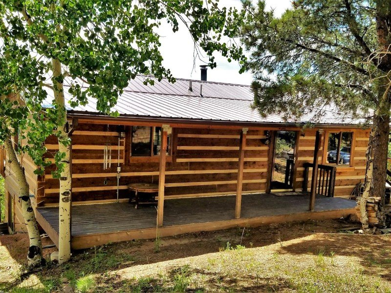 Private Cripple Creek Log Cabin with Gorgeous View