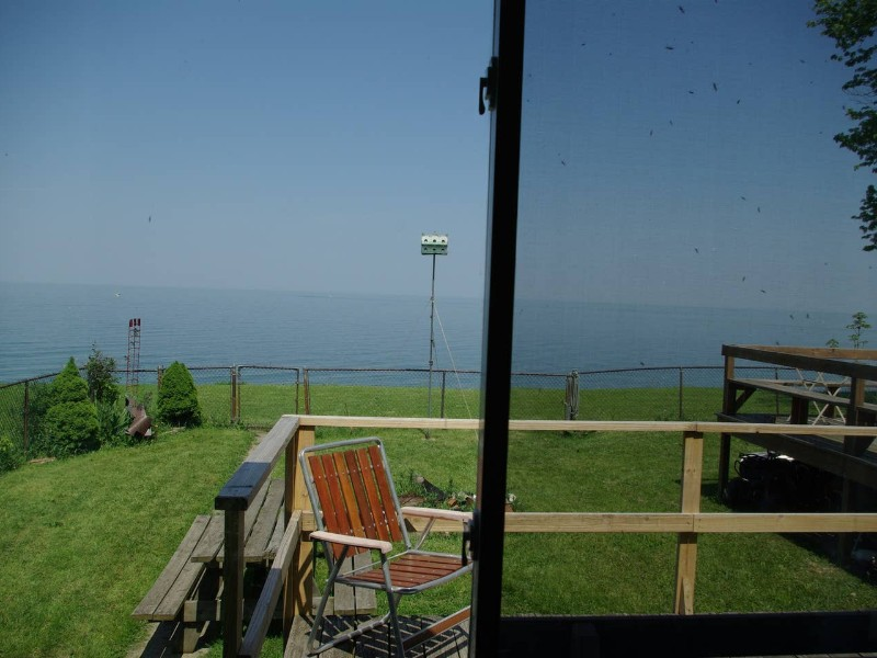 Lake view at Historic Cottage on Lake Erie