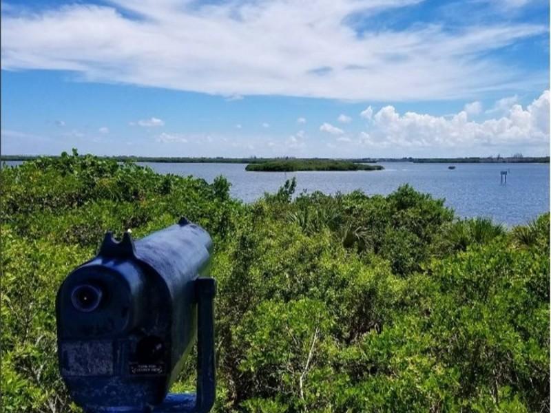 The historic Pelican Island National Wildlife Refuge