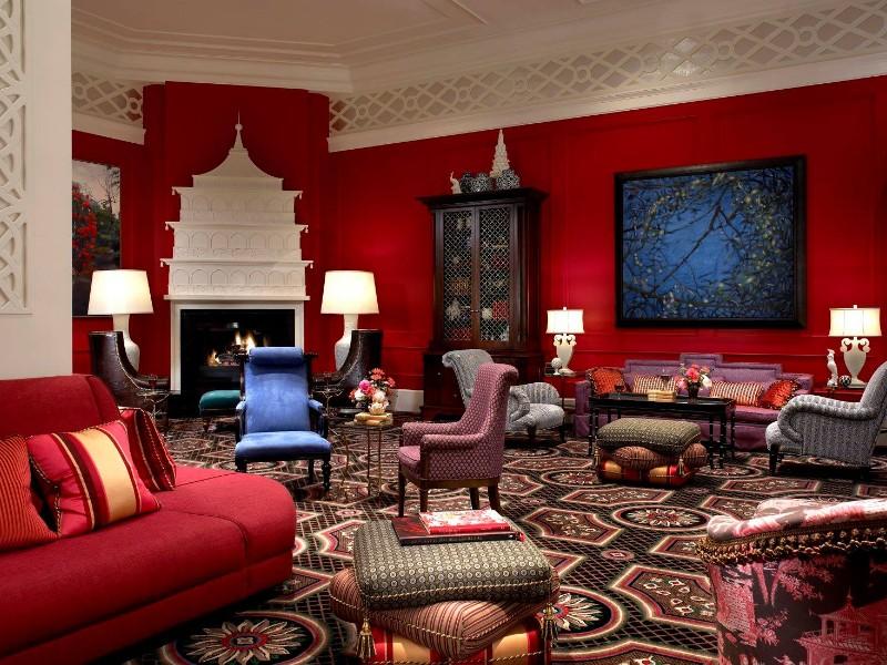 Elegant seating at Kimpton Hotel Monaco Portland