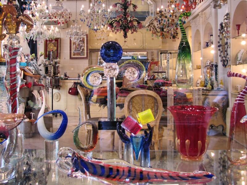 Murano Glass Shop, Italy