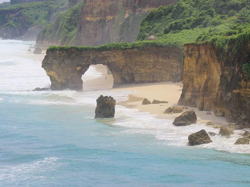Unique rock formations, Sumba Island