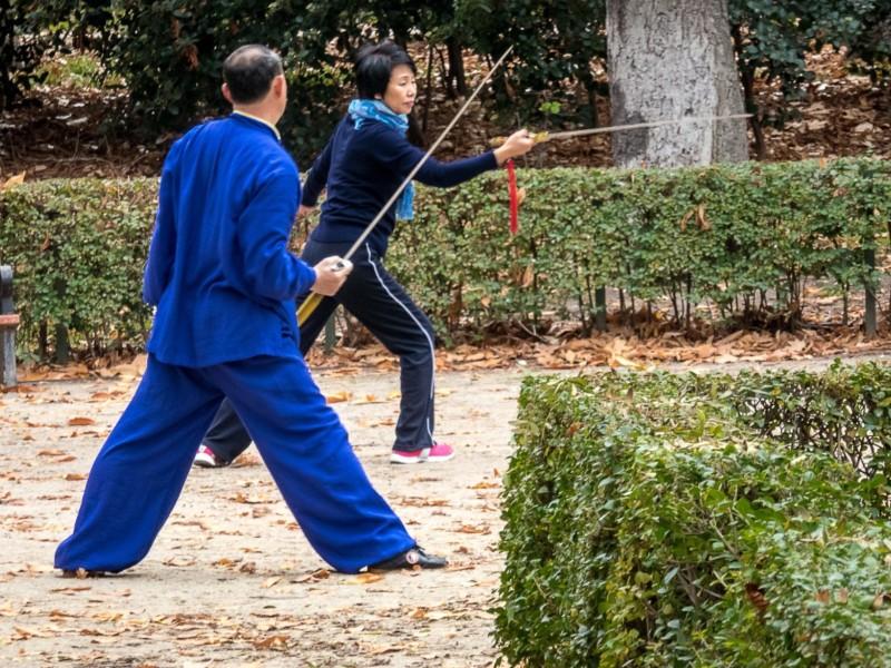 Samarai sword training, Japan