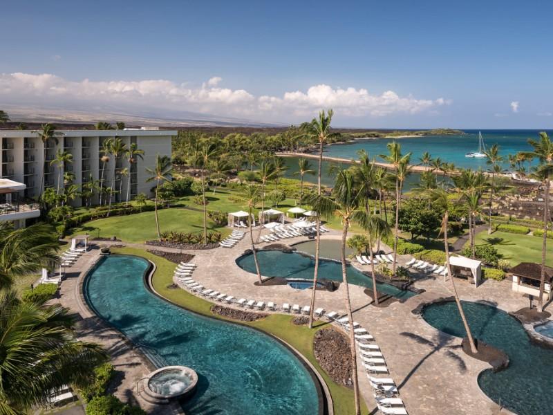Pools at Waikoloa Beach Marriott Resort & Spa