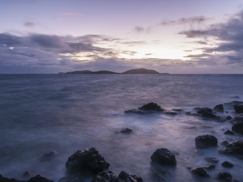 Small tropical cay of Culebrita off the coast of Isla Culebra