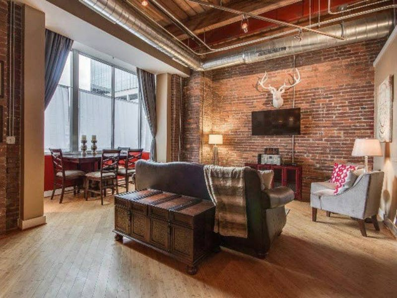 This 1820s loft is steps from Broadway.