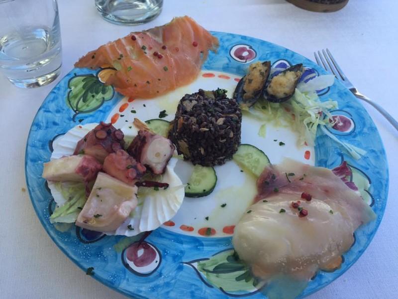 Appetizer, Donna Gina Restaurant, Polignano a Mare, Italy