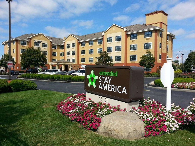 Exterior of Extended Stay America New York City LaGuardia Airport